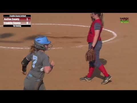 Franklin County High School Softball vs. Halifax - May 9, 2018