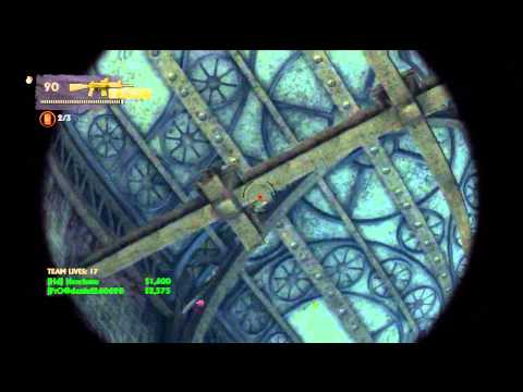 UNCHARTED: 3 CoOp London Underground SP/ Roof area (EPILEPSY
