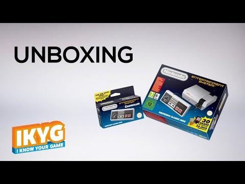 Unboxing Nintendo Classic Mini NES