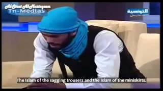 Young Tunisian Surprises Audience || Poetry Live On TV || Modern Islam v Authentic Islam