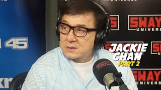 Part 2: jackie chan talks new film, the foreigner + senseless violence in the world