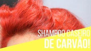 🚿Shampoo ANTI RESÍDUOS CASEIRO! | Shampoo  caseiro de carvão