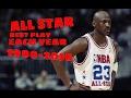 NBA All Star Best Play Each Year (1980-2016)