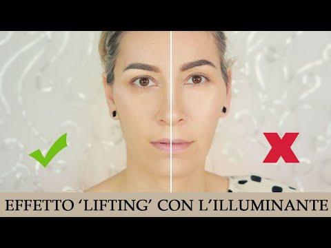Crea un effetto 'lifting' con l'illuminante