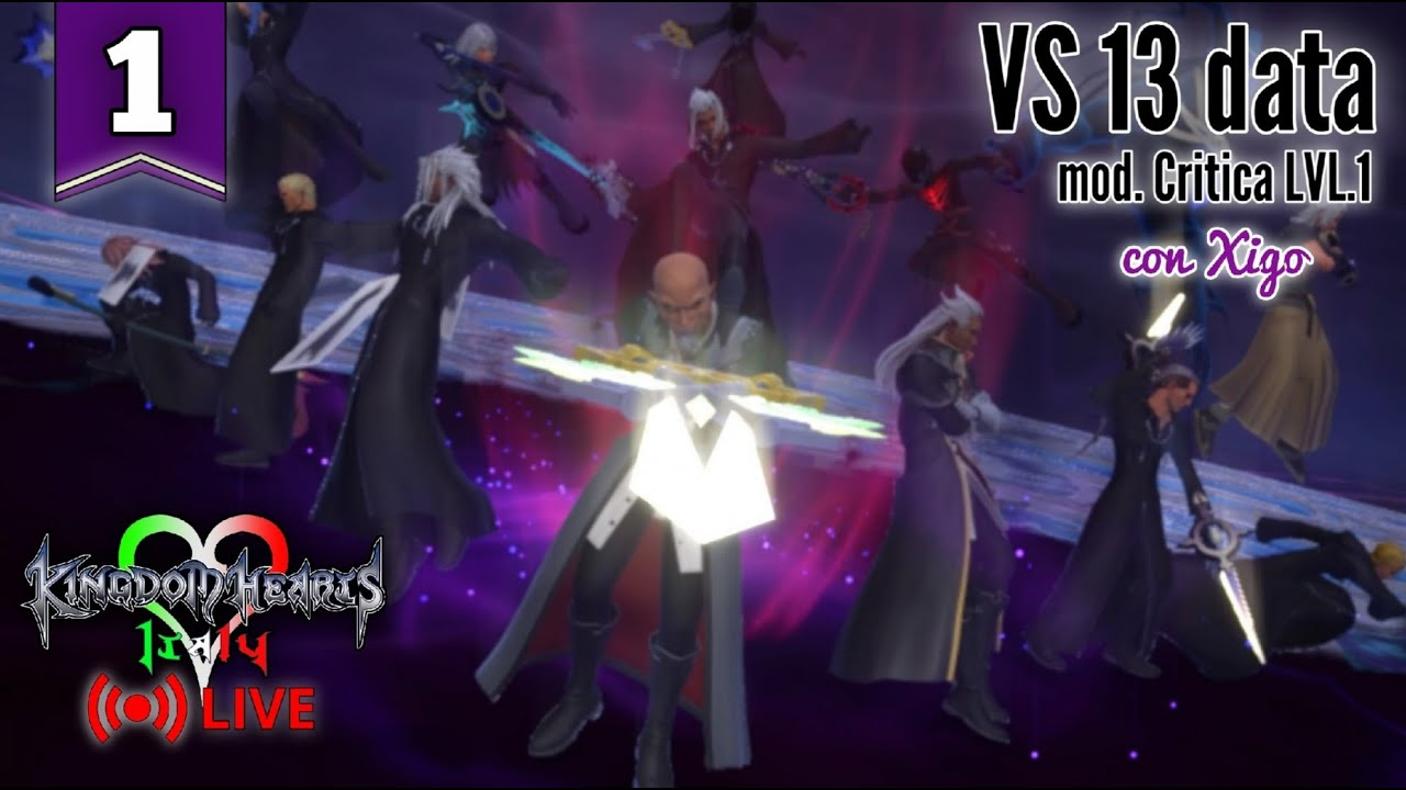 🔴(Xigo) Kingdom Hearts 3 Re:Mind - Data dell'Organizzazione Critica LV1 [Ep.1]