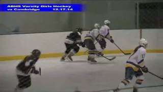 Acton Boxborough Varsity Girls Hockey vs Cambridge 12/17/14