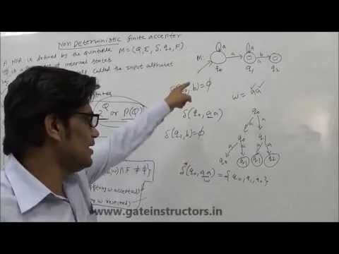 016 | Language Acceptance by a NFA (Nondeterministic Finite Automata) : Theory of Computation