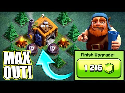 JOURNEY TO MAX BUILDERS HALL 7!  Clash Of Clans  MAX LEVEL UPGRADES!