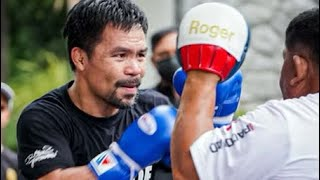 MANNY PACQUIAO preparing to go to war with Errol Spence! AUGUST 21