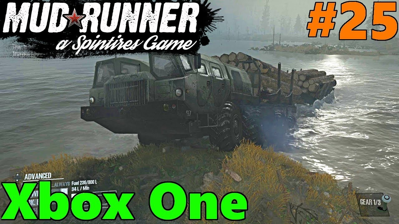 spintires mud runner xbox one let 39 s play part 25 we. Black Bedroom Furniture Sets. Home Design Ideas