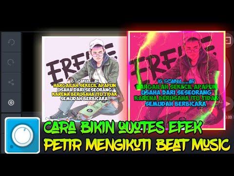 Cara Membuat Video Quotes Efek Petir Mengukuti Beat Music   Tutorial Avee Player thumbnail