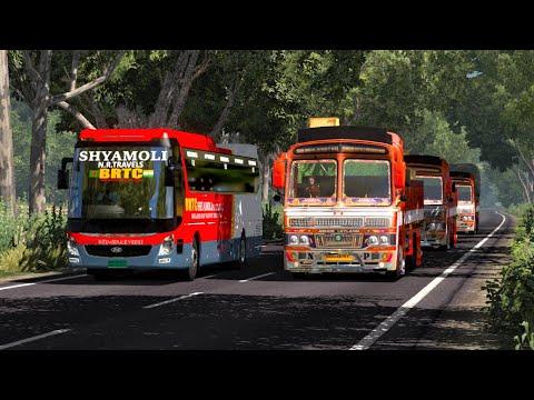 Benapol to Kolkata   SHYAMOLI-BRTC   International Bus Service   Hyundai UXN   Green BD Map V2.3  