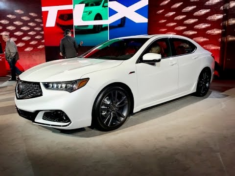 2018 acura tlx a spec redline first look 2017 nyias youtube. Black Bedroom Furniture Sets. Home Design Ideas