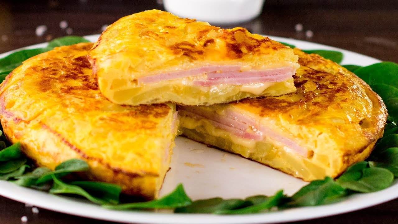 Приготовьте вместо классического омлета тортилью с картошкой! Семья будет в восторге! | Appetitno.TV