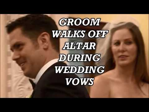 NEW UPDATE! Surprise Groom walks off altar during wedding vows Step daughter