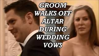 (OFFICIAL)Surprise Groom walks off altar during wedding vows Step daughter!!
