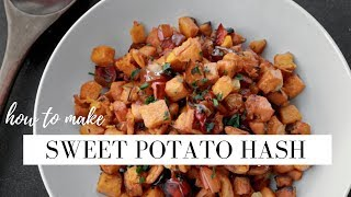 SWEET POTATO HASH | Delicious Sweet Potato Recipes | STACEY FLOWERS