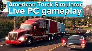American Truck Simulator - Live PC gameplay