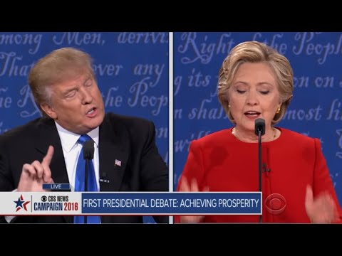 Presidential Debate Part 1: Achieving prosperity in the U.S. economy