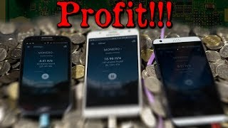 Make Money with Phones?! - Cryptocurrency Mining on Spare Smartphones