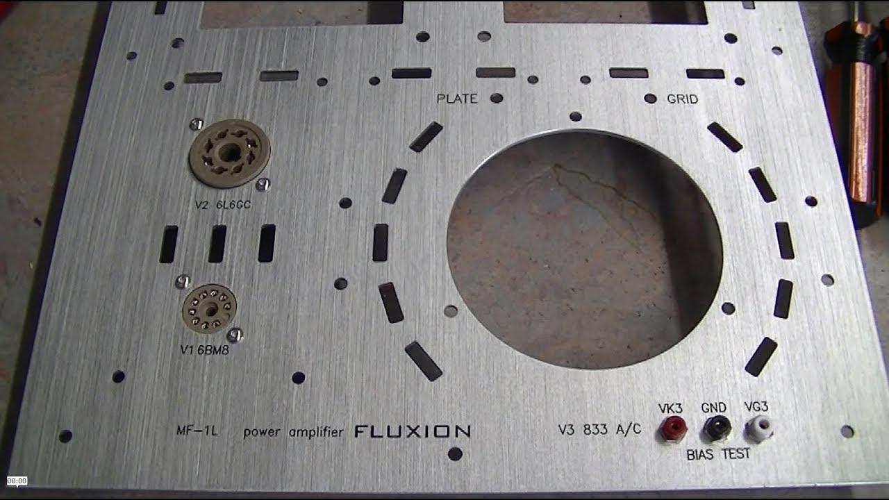 Audio Lecture 20 Diy Project 833a Se 50 Watt Power Amplifier Part 2 Input Stage Soldering