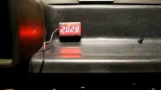 видео Электронный тахометр для жигулей. Тахометр на ВАЗ шестой модели: в помощь начинающим автомобилистам