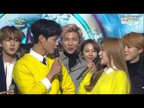 160108 BTS RUN 5th win Music Bank