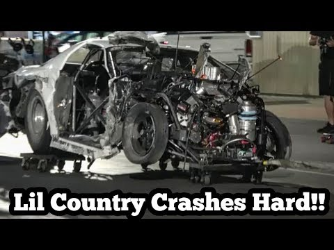 Lil Country Crashes Hard at Street Outlaws No Prep Kings in Ohio