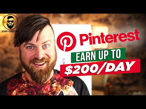 How To Make Money On Pinterest In 2020 | $200 Per Day With NO INVESTMENT