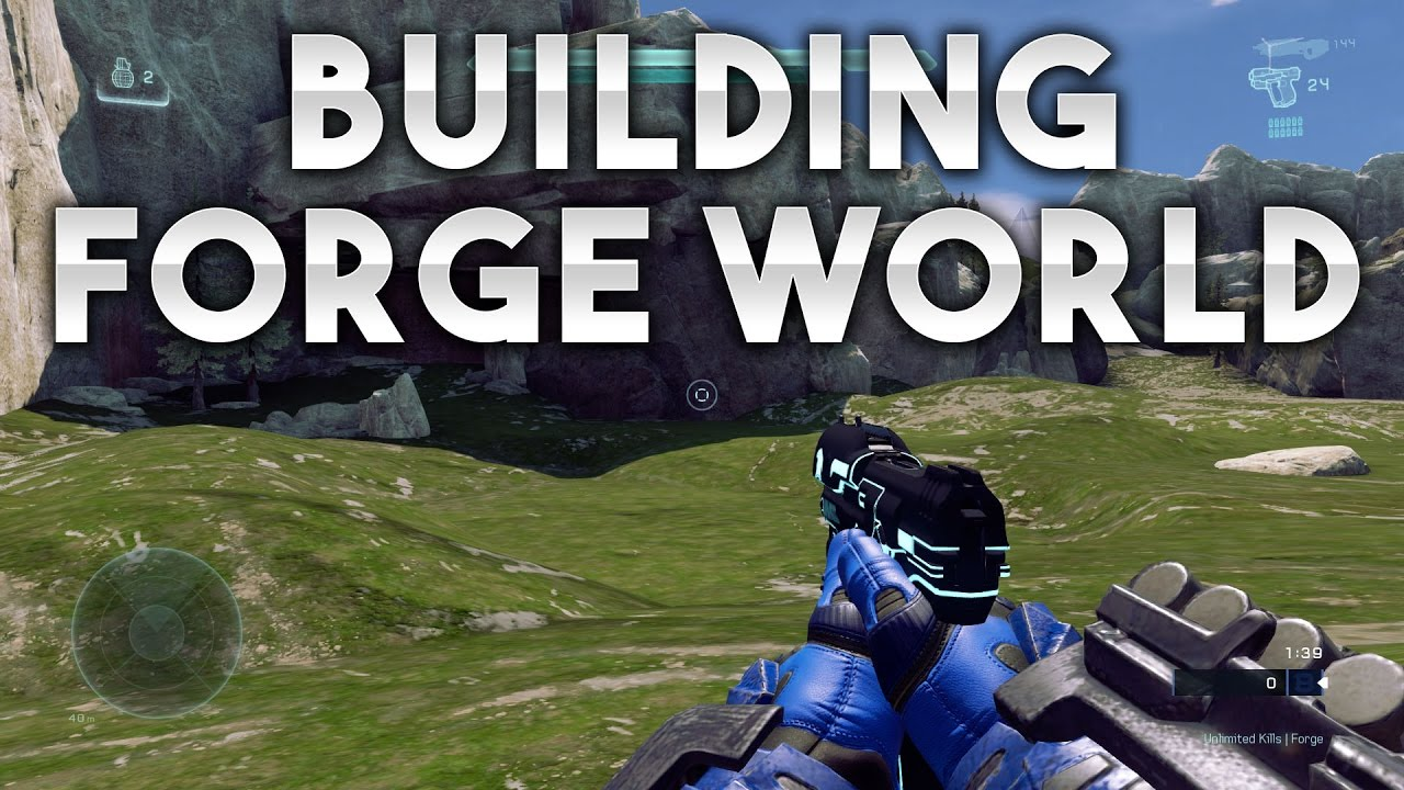 Building Forge World in Halo 5 | Lets Talk About The Update