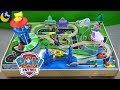 Paw Patrol Adventure Bay Play Table Look Out Tower Pups Kidcraft Wooden Train Tracks Table Playset