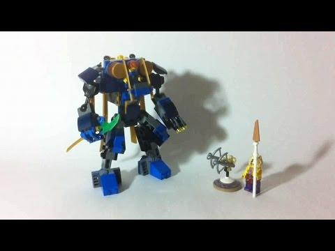LEGO Live Construction : Ninjago's ElectroMech [Français]