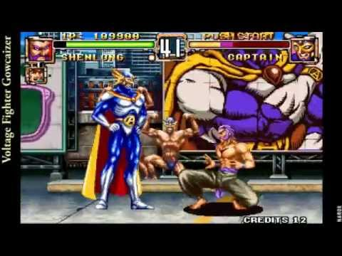 Voltage Fighter Gowcaizer Neo Geo Voltage Fighter Gowcaizer