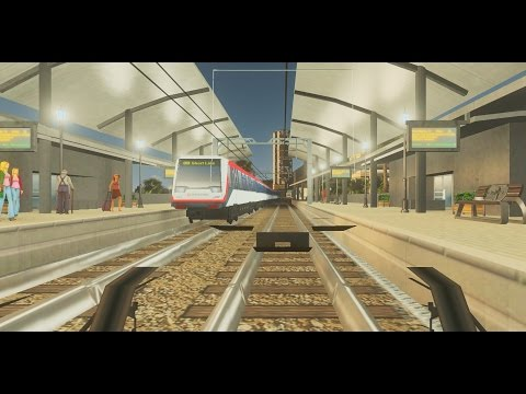 Trains Trams Park America Final Cities: Skylines