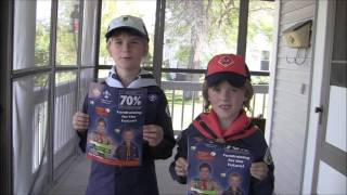 Jakob and Ashton - Cub Scout Troop 194 Popcorn Fund Raiser