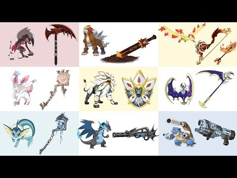 Top Amazing Pokemon as Weapons Fan Art Compilation Requests #1