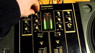 Technics 1210 Decks - Mixing My Orbit Parks & Wilson with Paganini Trax Zoe