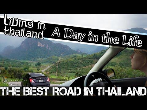 BEST ROAD IN THAILAND - CHIANG RAI-NAN THAILAND VLOG (ADITL EP65)