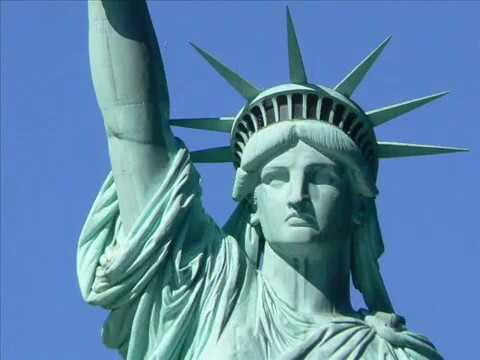 The Statue of Liberty!!! The symbol of American freedom and opportunity, Lady Liberty