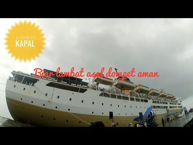 Pelni Ship Km Dorolonda Berlayar Dari Tanjung Pinang