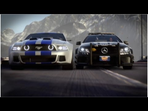 Need for Speed Rivals Trailer Progression et technologies de poursuite
