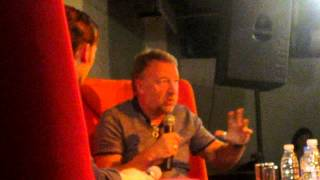 Peter Hook talks about Ian Curtis