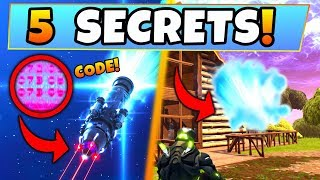Fortnite Update: 5 ROCKET SECRETS/SEASON 5 Clues! – Hidden Launch Code, Blockbuster (Battle Royale)