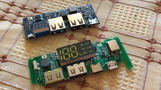 Годная Плата Управления Power Bank c Lightning Type-C Micro-USB и Quick Charge из Китая Aliexpress