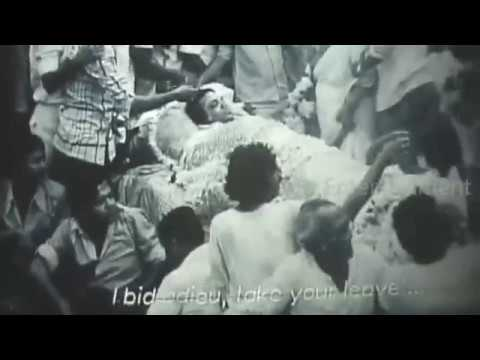 Uttam Kumar l Death l Last Ride l Rare Video l উত্তম কুমার শেষ যাত্রা