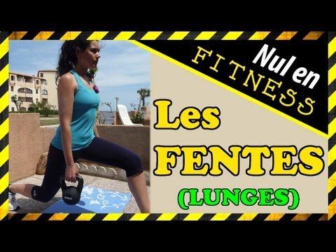 [Nul en Fitness ?] Comment bien faire vos FENTES (= lunges)