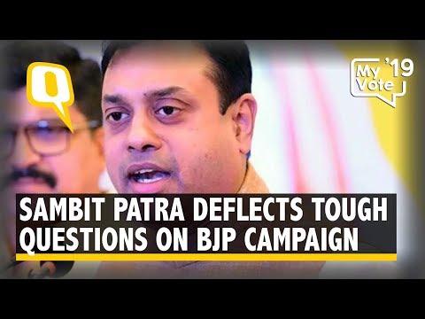 BJP Silent on DeMo & Smart Cities, Sambit Patra Deflects Questions