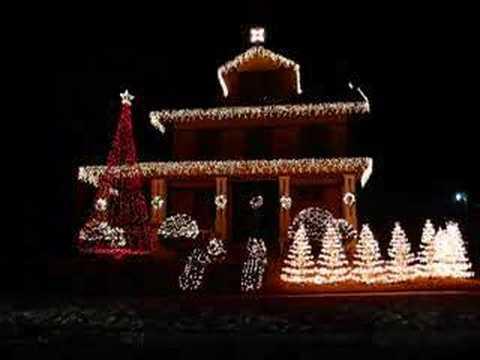 Oklahoma City Christmas Light House