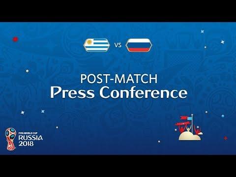 FIFA World Cup™ 2018: Uruguay v. Russia - Post-Match Press Conference