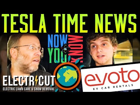 Tesla Time News - Companies Making a Difference and more!